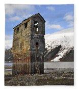 Saltwater Pump House Fleece Blanket