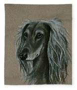 Saluki Fleece Blanket