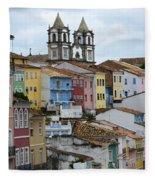 Salvador Brazil The Magic Of Color 2 Fleece Blanket