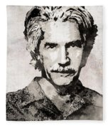 Sam Elliott 3 Fleece Blanket