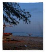 Sam Roi Yod Beach 04 Fleece Blanket