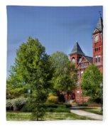 Samford Hall - Auburn University Fleece Blanket