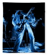 S H Bending A Cosmic Note In Spokane In 1977 Fleece Blanket