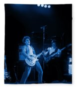 Sammy Plays The Blues In Spokane In 1977 Fleece Blanket