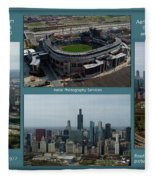 Sample Aerial Photography Services Readme Fleece Blanket