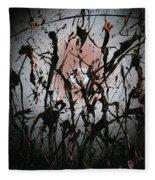 Samurai In The Weeds 2 Fleece Blanket