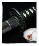 Samurai - The Way Of The Warrior - Bushido Fleece Blanket