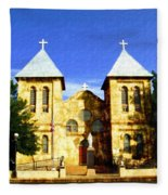 San Albino Church Fleece Blanket