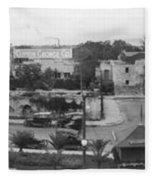 San Antonio 1918 Fleece Blanket