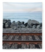 San Clemente Coast Railroad Fleece Blanket