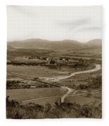 San Diego Mission In Mission Valley California Circa 1909 Fleece Blanket