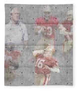 San Francisco 49ers Legends Fleece Blanket