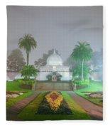 San Francisco Conservatory Of Flowers Fleece Blanket