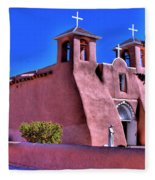 San Francisco De Asis Mission Church Fleece Blanket