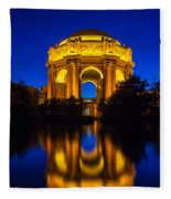 San Francisco Palace Of Fine Arts Fleece Blanket