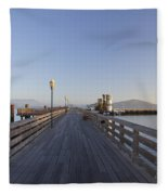 San Francisco Pier Fleece Blanket