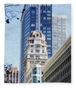 San Francisco  Fleece Blanket