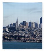 San Francisco Skyline Fleece Blanket