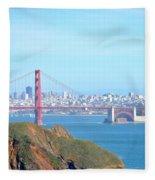 San Fransisco Fleece Blanket