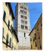 San Frediano Tower Fleece Blanket