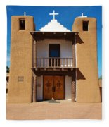 San Geronimo Church  Fleece Blanket