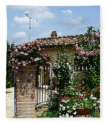 San Gimignano Beauty Of Tuscany  Fleece Blanket