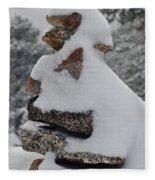 San Jacinto Balanced Rocks Fleece Blanket