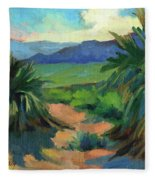 San Jacinto Visitors Center Fleece Blanket