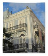 San Juan Architecture 1 Fleece Blanket