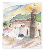 San Juan De La Rambla 05 Fleece Blanket