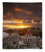 San Juan Sunrise Fleece Blanket