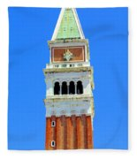 San Marco Campanile Fleece Blanket