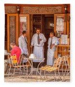 San Miguel - Waiting For Customers Fleece Blanket
