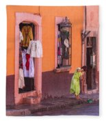 San Miguel Shop Fleece Blanket