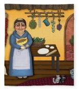 San Pascuals Kitchen 2 Fleece Blanket