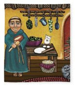 San Pascuals Kitchen Fleece Blanket