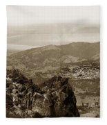 San Rafael From Mount Tamalpais California Circa 1905 Photo By Putnam- Valentine Fleece Blanket