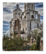 San Xavier Del Bac Fleece Blanket
