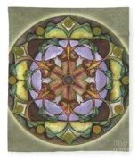 Sanctuary Mandala Fleece Blanket