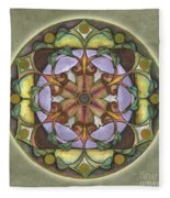 Sanctuary Mandala Fleece Blanket