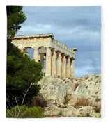 Sanctuary Of Aphaia 2 Fleece Blanket