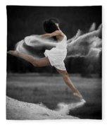 Sand Dance Fleece Blanket