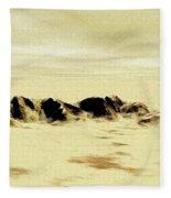 Sand Desert Fleece Blanket