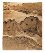 Sand Dog Fleece Blanket