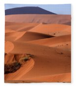 Sand Dune Sculpture  Fleece Blanket