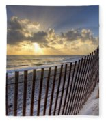 Sand Dunes   Fleece Blanket
