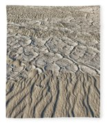 Sand Dunes Like Fine Cloth Fleece Blanket