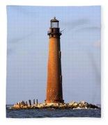 Sand Island Lighthouse - Alabama Fleece Blanket