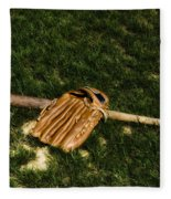 Sand Lot Baseball Fleece Blanket