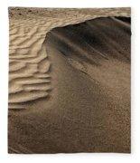 Sand Pattern Abstract - 2 Fleece Blanket